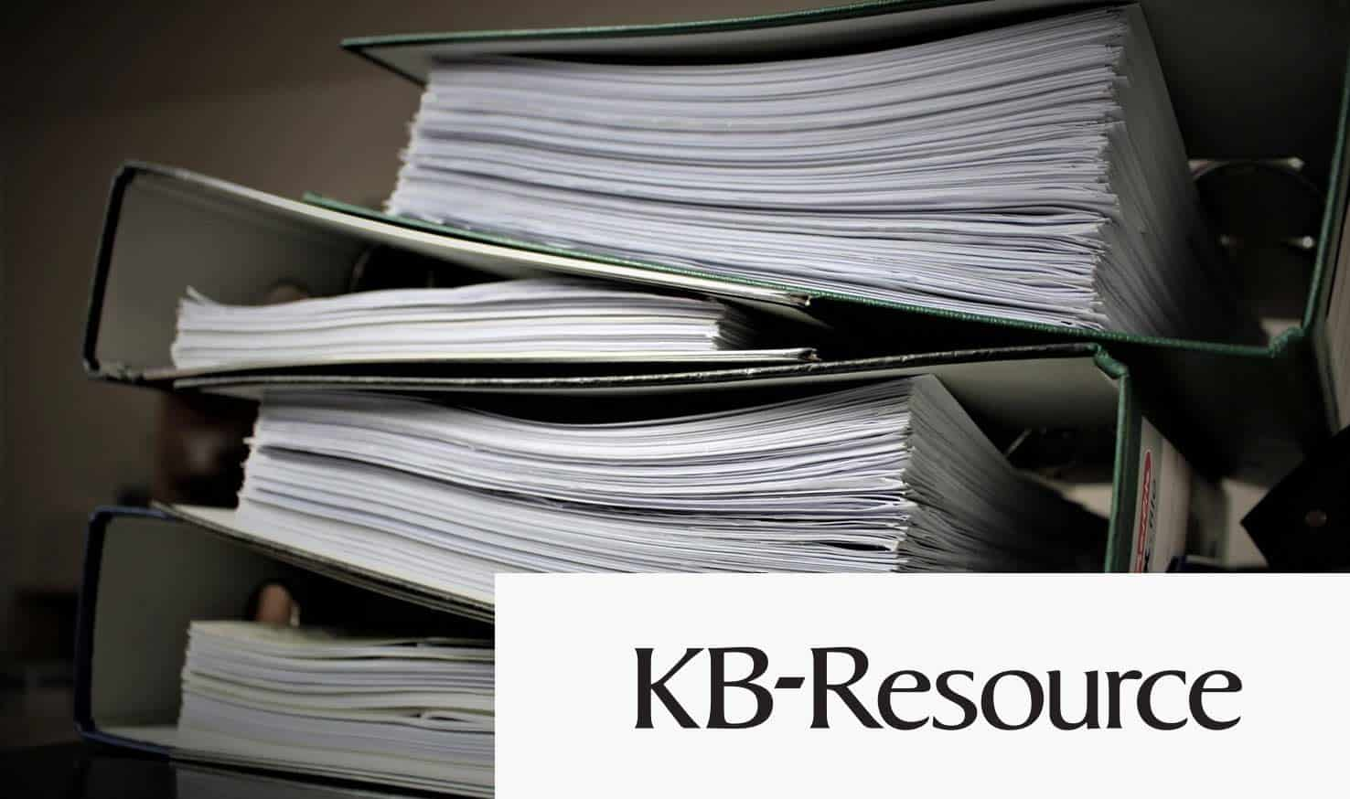 book cases for kb resource